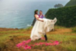 Kona Wedding Officiant Adventure Elopeme