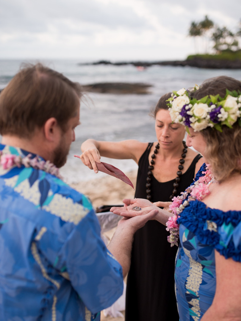 Big Island Wedding Officiant Kona Weddin
