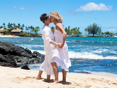 Jasmine & Chris's Amazing Morning Kukio Beach Wedding in Kailua Kona Hawaii