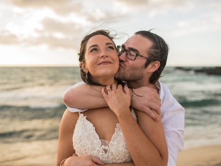 Courtney + Cody's Pre-Wedding Beach Session