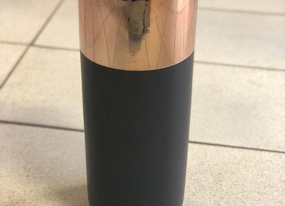 Black/Copper vase