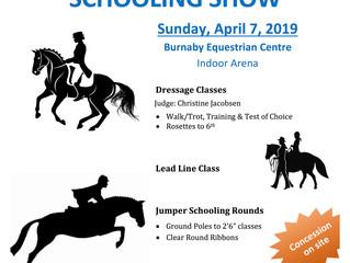 2019 Spring Schooling Show