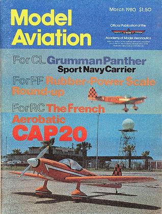 Model Aviation (March 1980) Vol. 6, No. 3