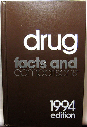 Drug Facts and Comparisons 1994