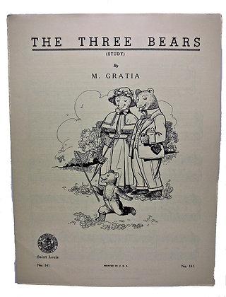 THREE BEARS by M. Gratia 1963