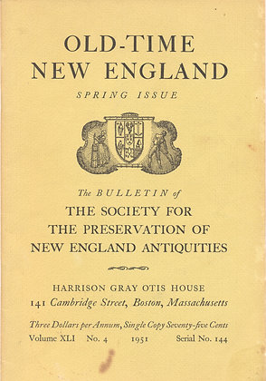 Old-Time New England Spring 1951