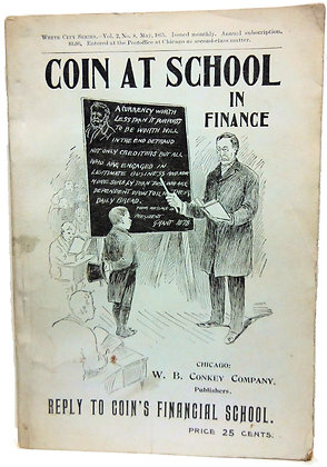 Coin at School in Finance 1895