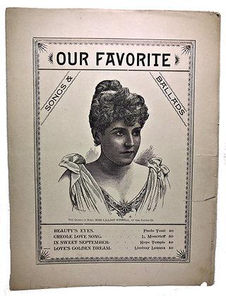 LOVE'S GOLDEN DREAM (Our Favorite Songs & Ballads) 1870