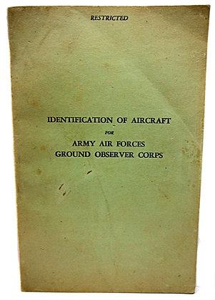 Identification of Army Aircraft (WW2) - 1942