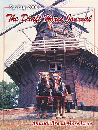 Draft Horse Journal Spring 2000