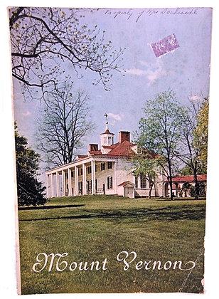 Mount Vernon Virginia History 1947