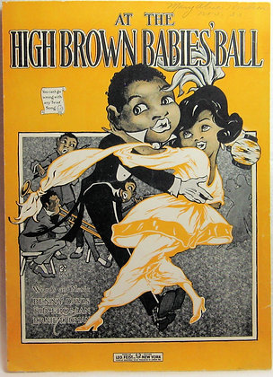 AT THE HIGH BROWN BABIES' BALL 1919