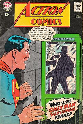ACTION COMICS (No. 355) October 1967