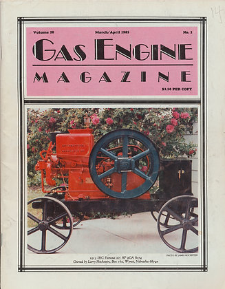Gas Engine Mag.  March-April 1985