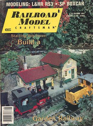 Railroad Model Craftsman, June 1991
