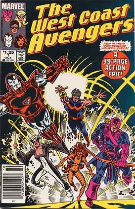 West Coast Avengers, #1
