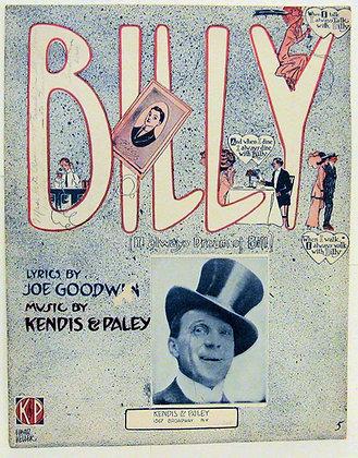 BILLY (I Always Dream of Bill) JOE GOODWIN 1911