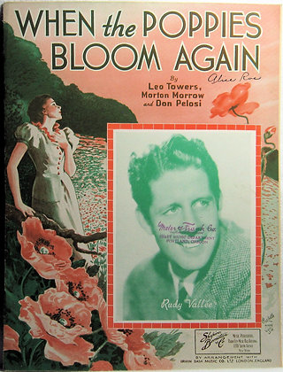 WHEN THE POPPIES BLOOM AGAIN 1936