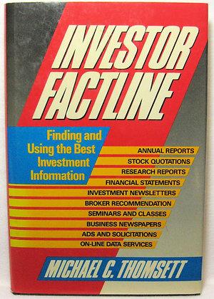 Investor Factline Michael C. Thomsett