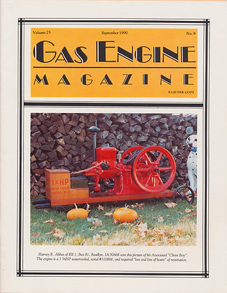 Gas Engine Mag.  September 1990