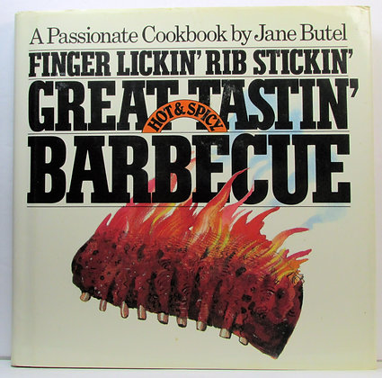 Finger lickin', rib stickin', great tastin', hot & spicy BARBECUE