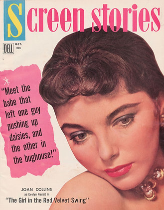 Screen Stories, JOAN COLLINS, October 1955