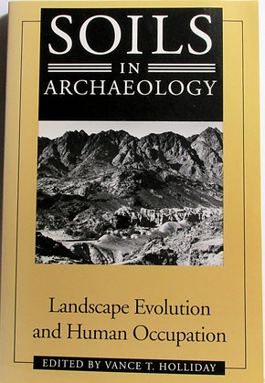 SOILS IN ARCHAEOLOGY Vance Holliday 1993