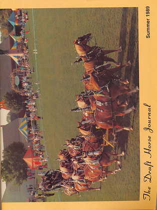 Draft Horse Journal Summer 1989