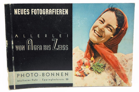 German Camera Catalog (circa 1937) HITLER