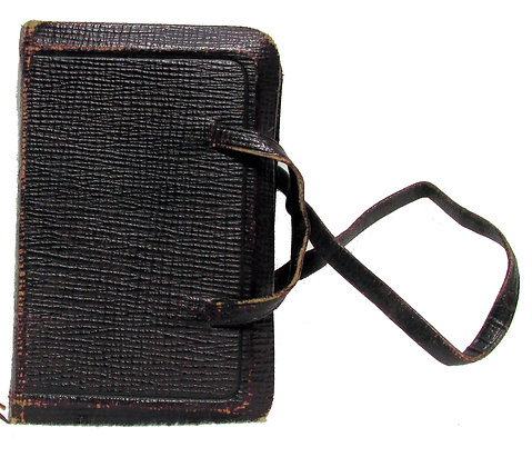 Book of Common Prayer w/Leather Carry Strap (ca. 1895)