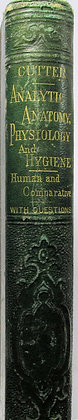 New Analytic Anatomy, Physiology & Hygiene by Calvin Cutter 1874