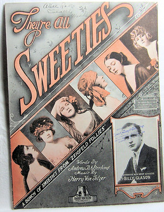 """They're ALL SWEETIES from """"ZEIGFELD FOLLIES"""" 1919"""