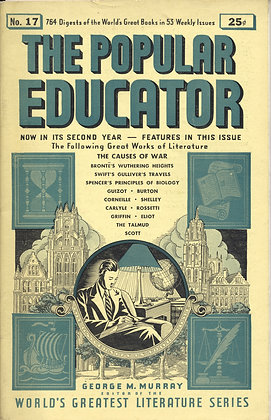 POPULAR EDUCATOR (#17, Second Year, 1939) THE CAUSES OF WAR