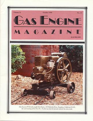Gas Engine Mag.  October 1996