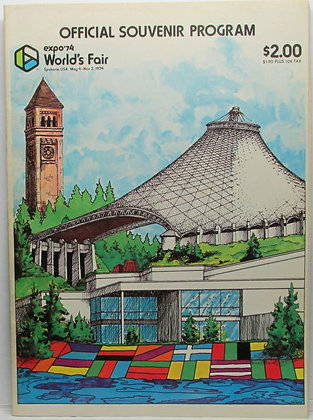 1974 Spokane Washington Expo '74 World's Fair Program