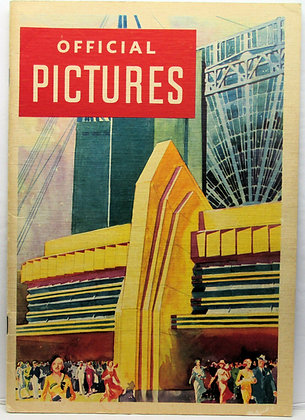 Chicago World's Fair Official Pictures of A Century of Progress Exposition 1933