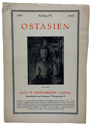 Katalog 592 April, Ostasien 1929 (German)
