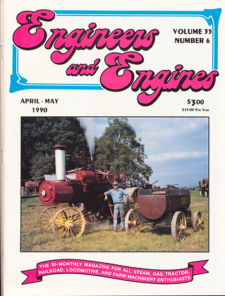 Engineers & Engines, April-May 1990