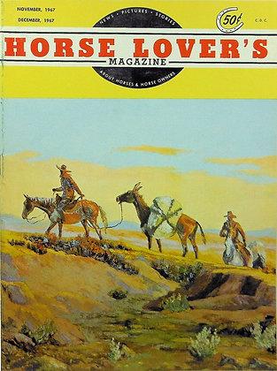 Horse Lover's Magazine Nov-Dec, 1967