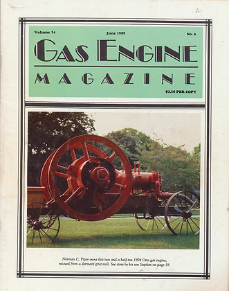 Gas Engine Mag.  June 1989