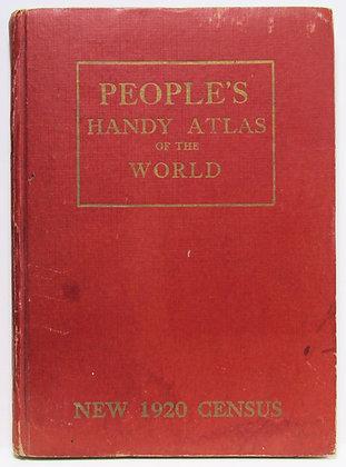 PEOPLE'S HANDY ATLAS of the WORLD 1921