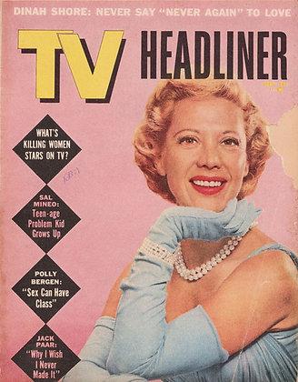 TV Headliner, September 1958