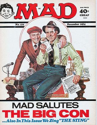MAD (December 1974) Richard Nixon