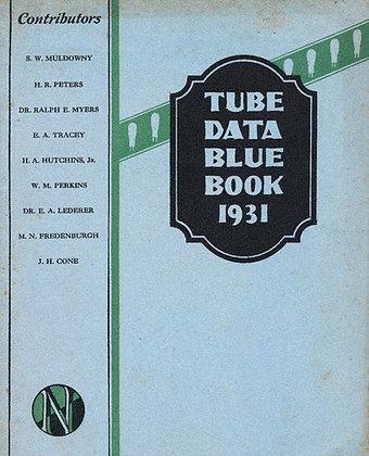 Tube Data Blue Book 1931
