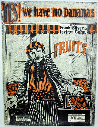Yes!  We have no bananas 1923