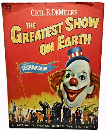 Paramount Greatest Show on Earth 1952 (James Stewart)