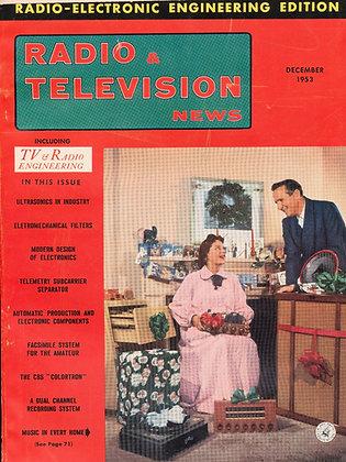 Radio & Television News, December 1953