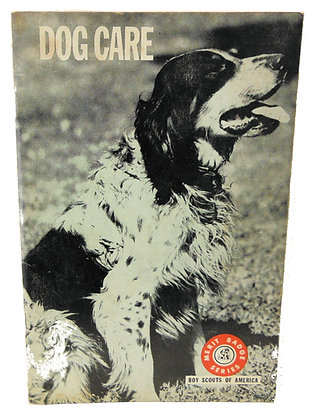 Dog Care Boy Scouts 1970