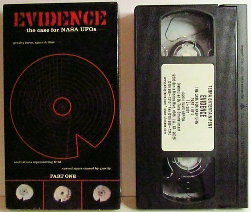 EVIDENCE: The case for NASA UFOs (PART ONE) VHS