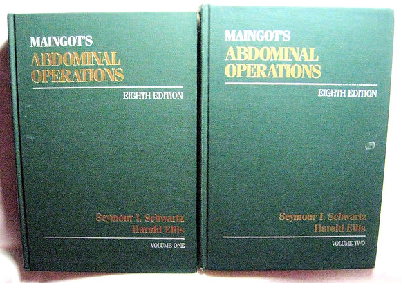 Maingot's Abdominal Operations (2 Vol. Set) 1985